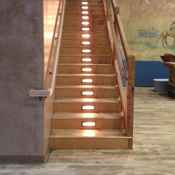 Rebuilt Staircase to Mezzanine